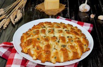 Պանրով հաց ջեռոցում