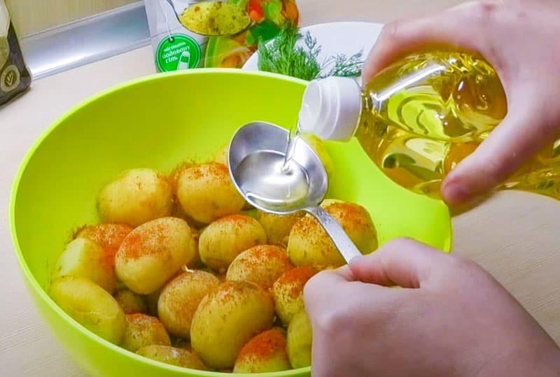 Երիտասարդ կարտոֆիլը ջեռոցում. Պատրաստենք շքեղ ուտեստ