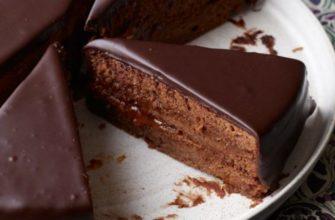 Դասական շոկոլադե տորթ
