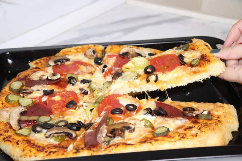 Տնական համեղ Պիցցայի խմոր և Պիցցա․ Ամենապարզ բաղադրատոմսը
