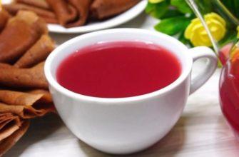 Լոռամրգով նարնջի թեյ