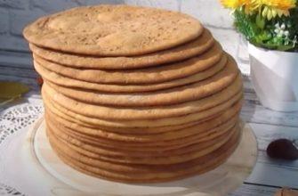 Մեղրով տորթի շերտեր