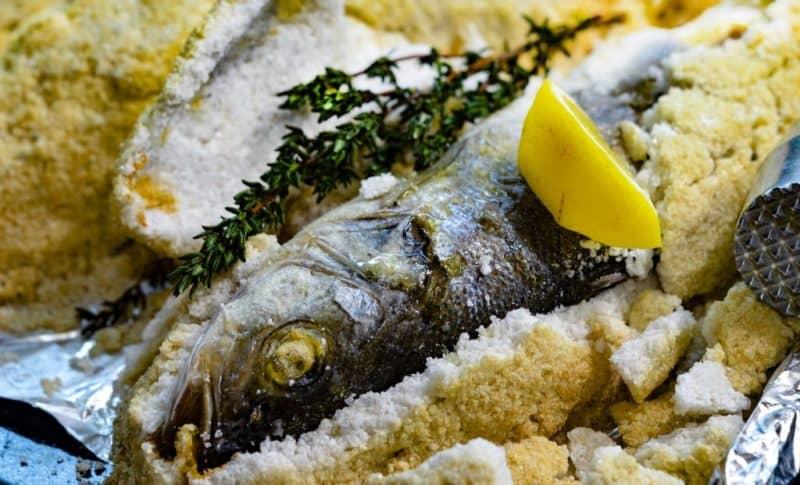 Ձուկը աղի մեջ